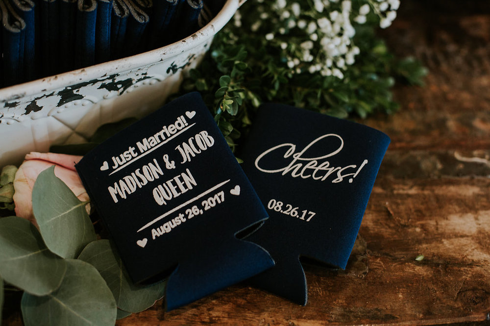 Unique Wedding Favor Ideas - North Carolina Wedding Venue - Triple J Manor House Wedding