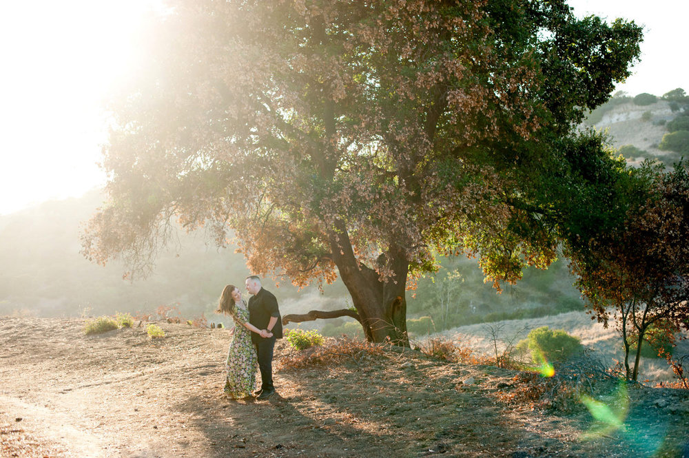 Mountain Engagement Photos - Southern California Wedding Photographer