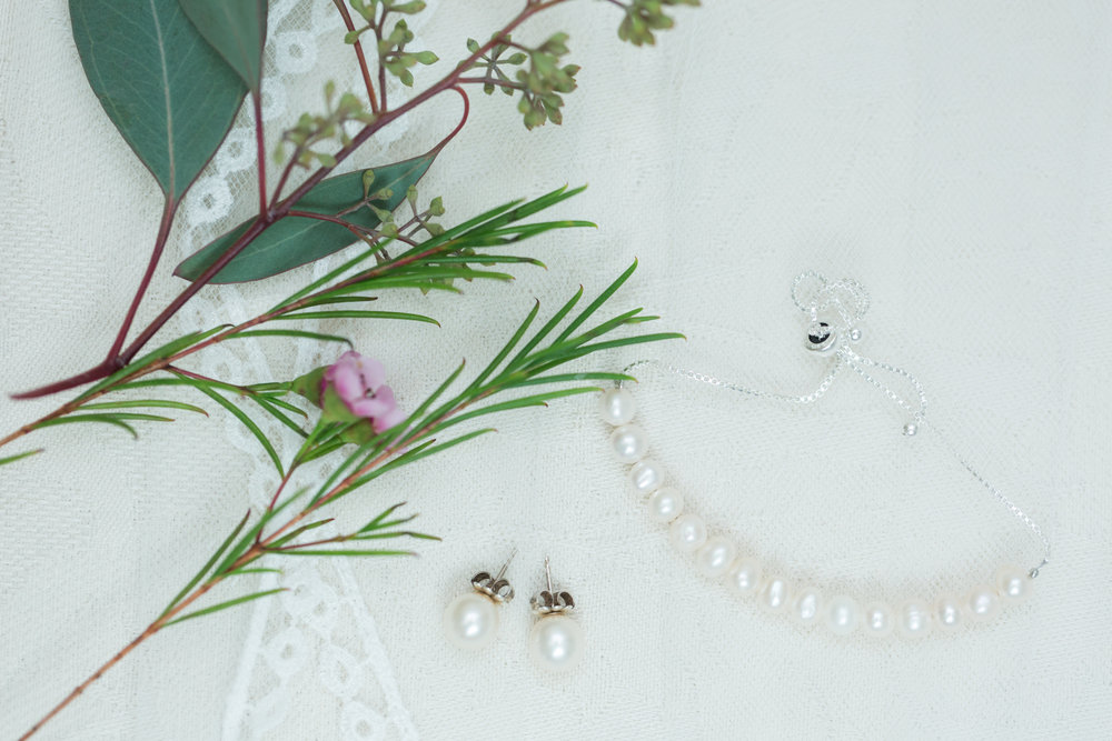 Pearl Bridal Jewelry - Heritage House - Georgetown, Texas Wedding Venue