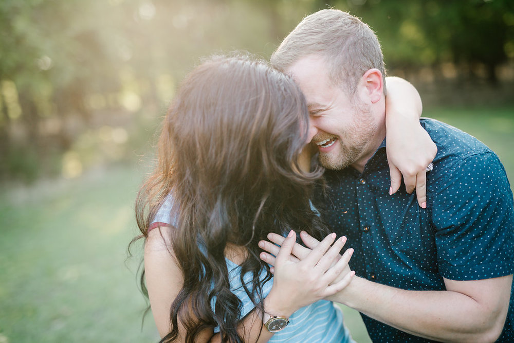 Austin, Texas Wedding Photographer - McKinney Falls State Park Engagement Photos