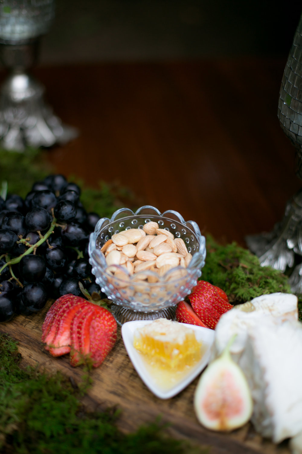 Pretty Wedding Appetizer Set Up - Colchester, Connecticut Wedding Photographer