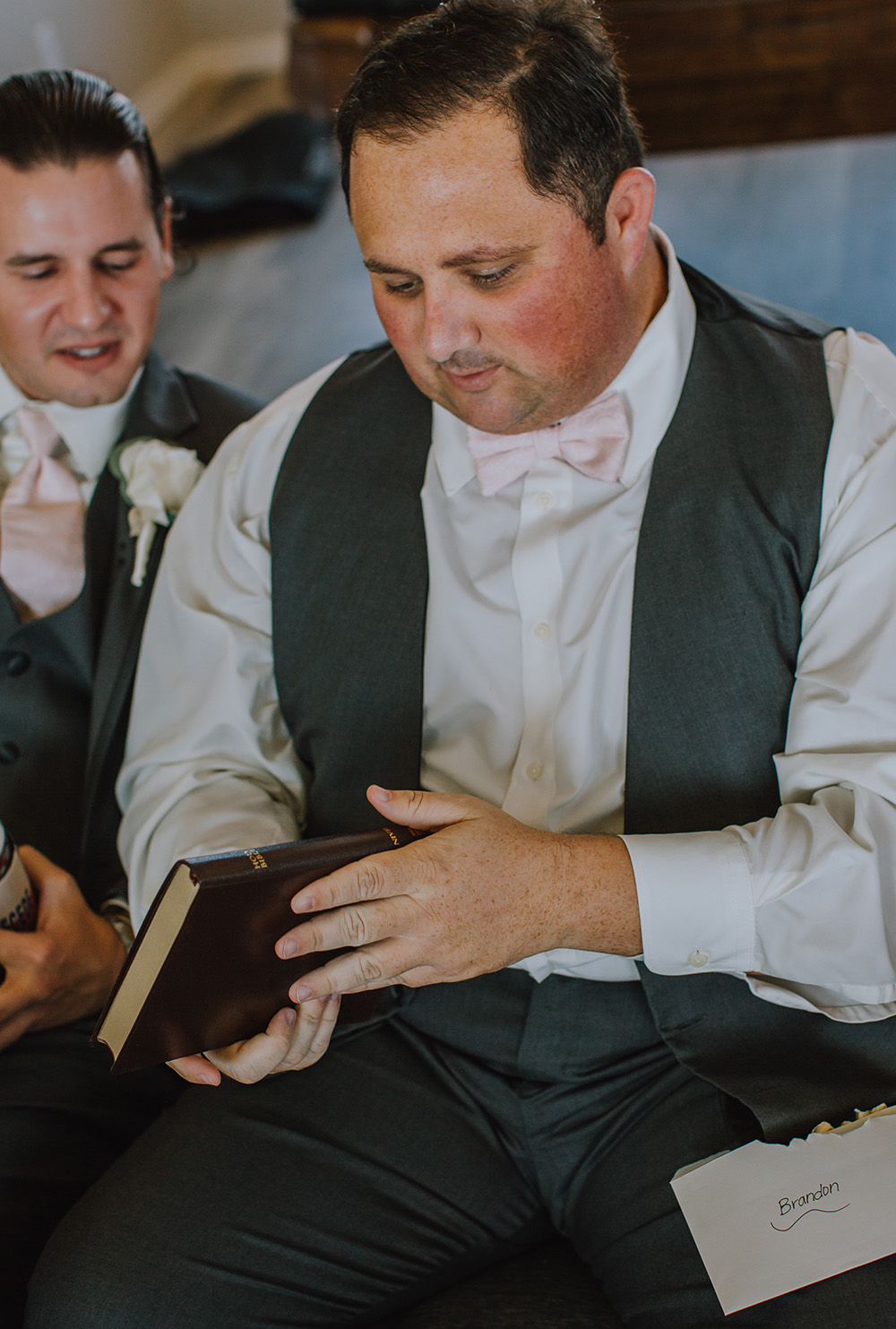 Groomsman Attire - The Grand Ivory Wedding - Leonard, Texas Wedding Venue