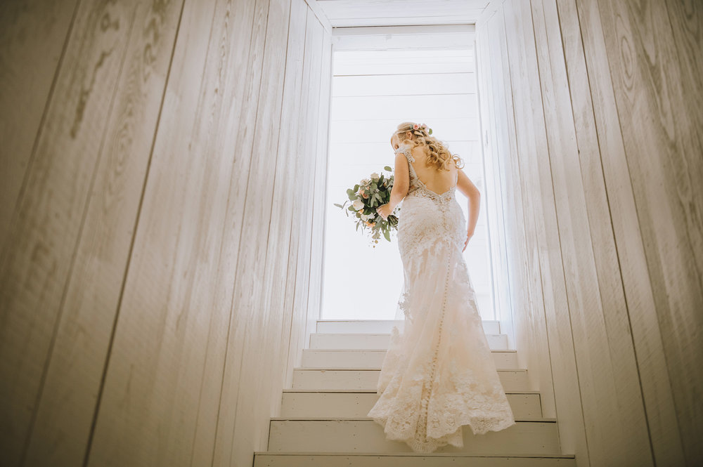 Lace Wedding Dress - The Grand Ivory Wedding - Leonard, Texas Wedding Venue