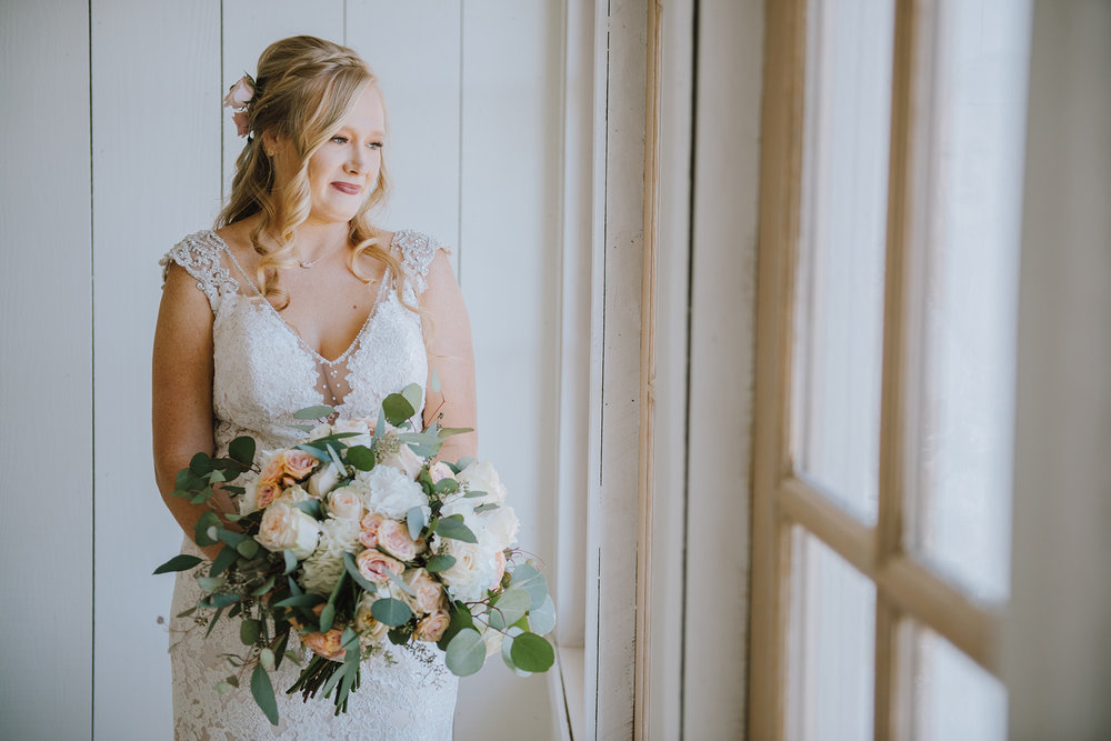 Gorgeous Wedding Bouquets - The Grand Ivory Wedding - Leonard, Texas Wedding Venue