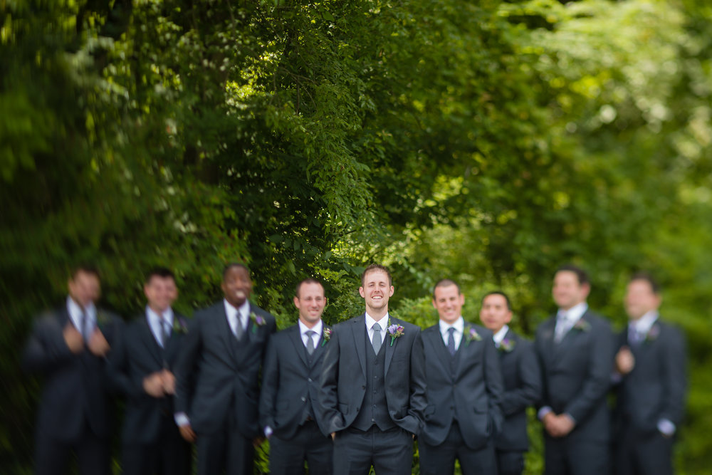 Groomsman Suit Rentals - Pittsburgh Wedding Venue - Duquesne University Wedding