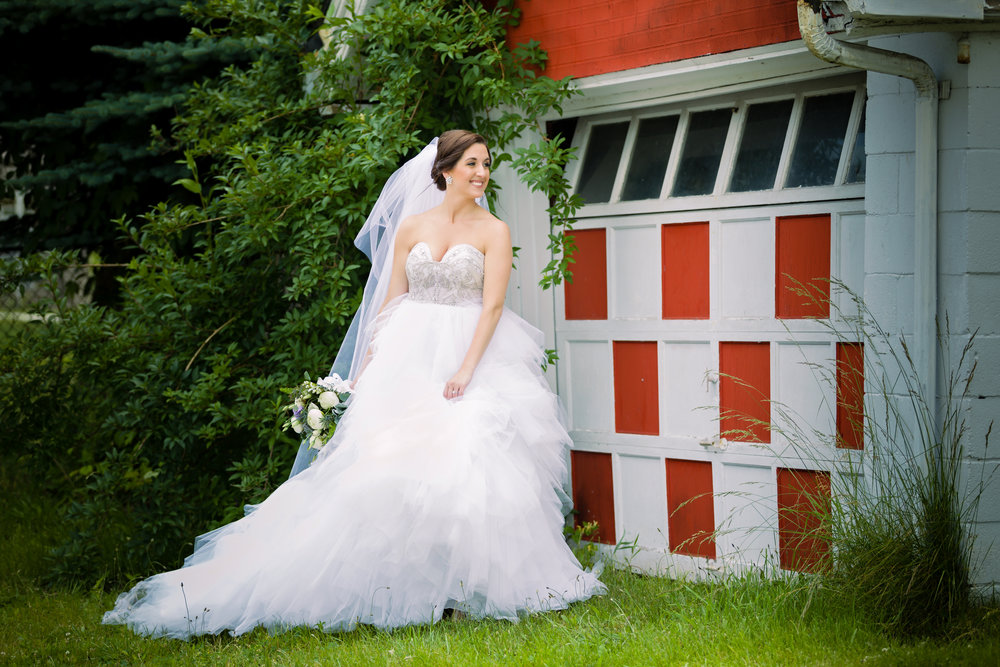Beaded Wedding Dress - Pittsburgh Wedding Venue - Duquesne University Wedding