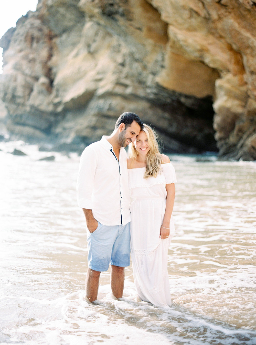 Algarve, Portugal Beach Engagement Photos