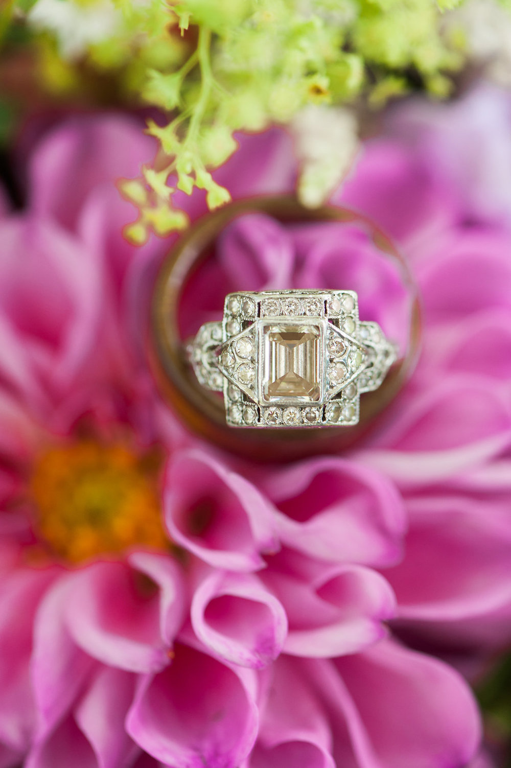 Unique Engagement Ring - Iowa Farm Wedding - Private Estate Weddings