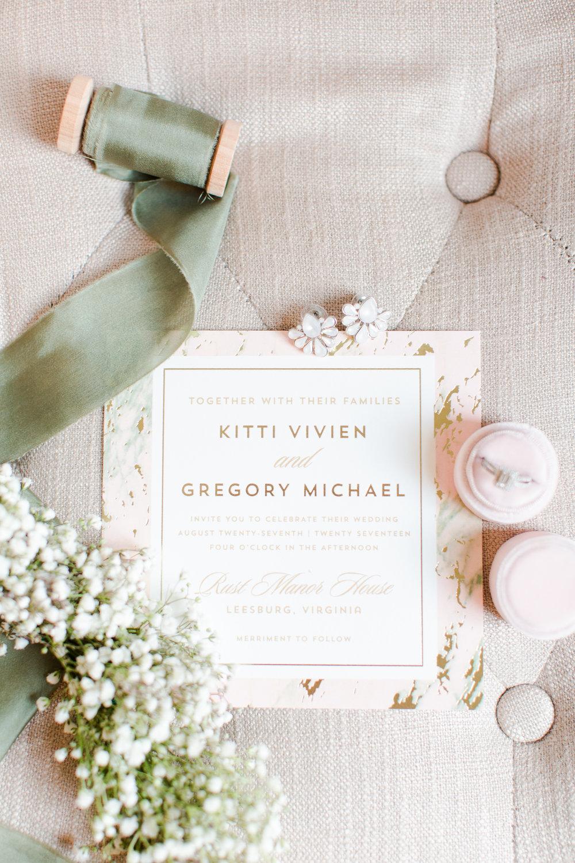 Square Wedding Invitations - West Virginia Wedding Photographer - Wedding Venue