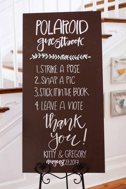 Chalkboard Wedding Signs - West Virginia Wedding Photographer - Wedding Venue