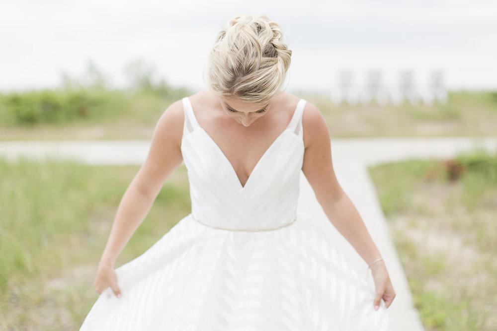 Hailey Paige Wedding Dress - Sheboygan Town & Country Golf Club Wedding - Wisconsin Wedding