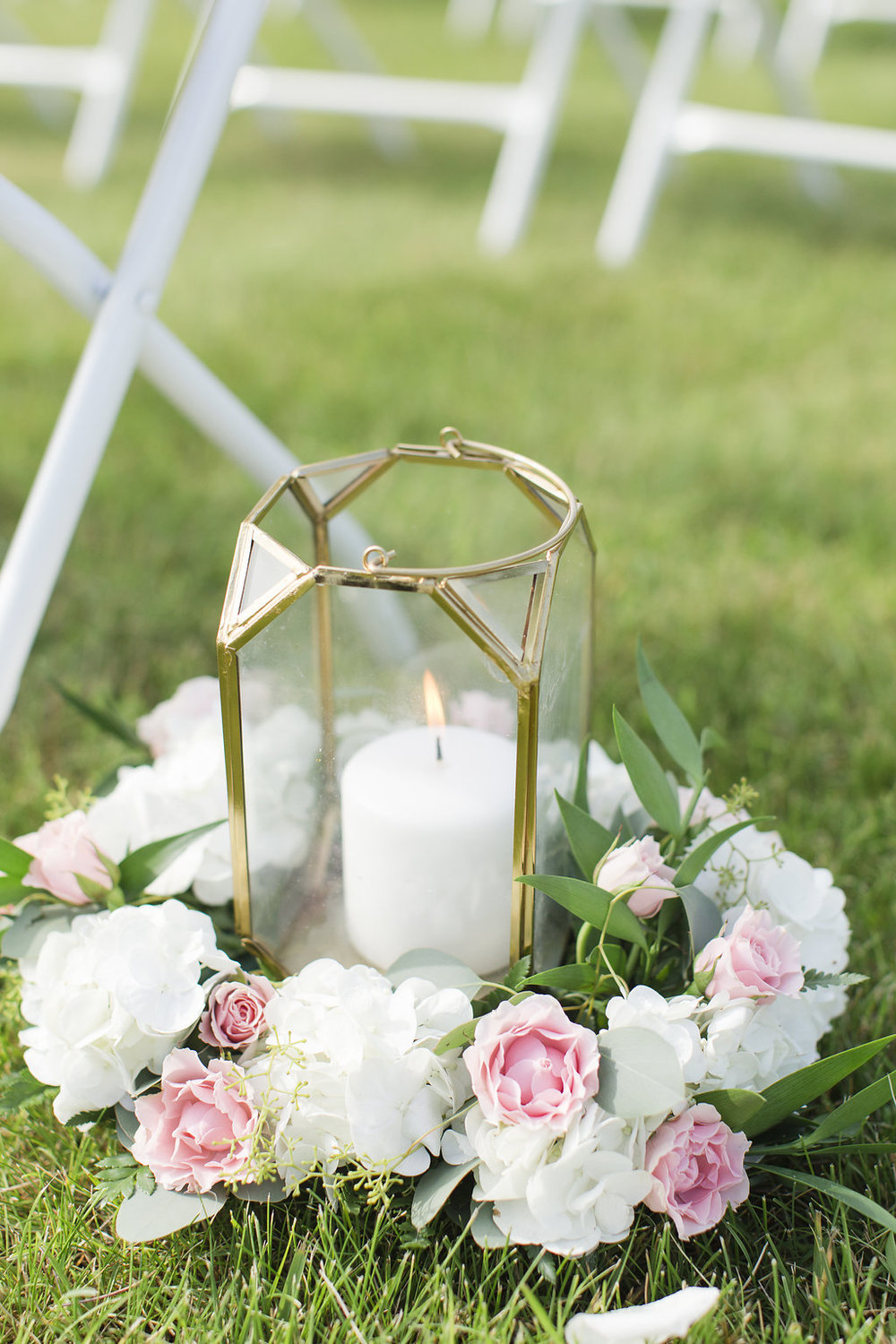 Gorgeous Outdoor Wedding Decor - Sheboygan Town & Country Golf Club Wedding - Wisconsin Wedding