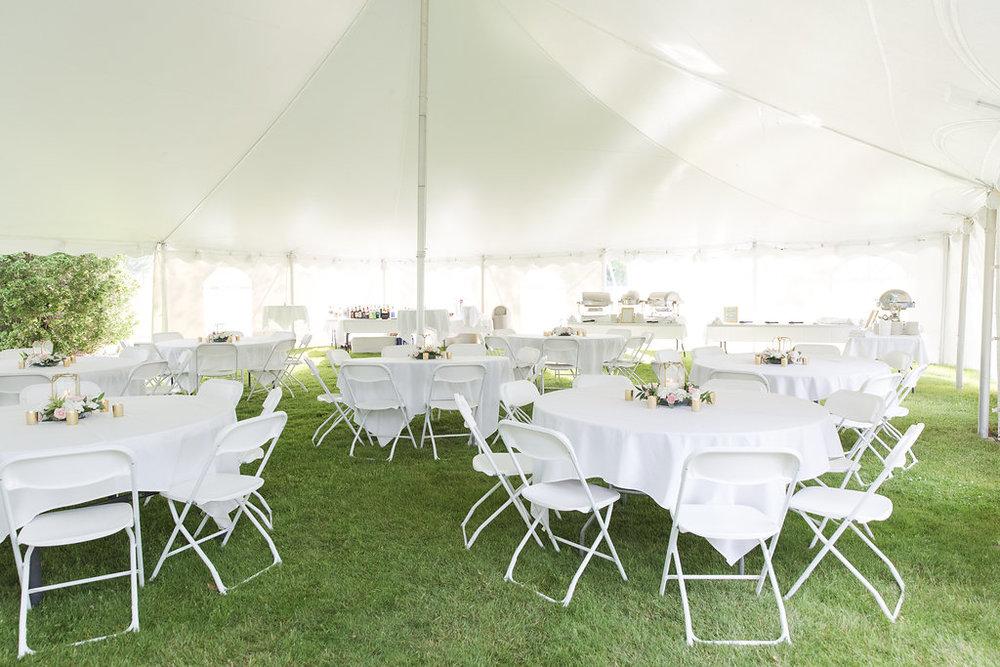 Gorgeous Tent Wedding Receptions - Sheboygan Town & Country Golf Club Wedding - Wisconsin Wedding