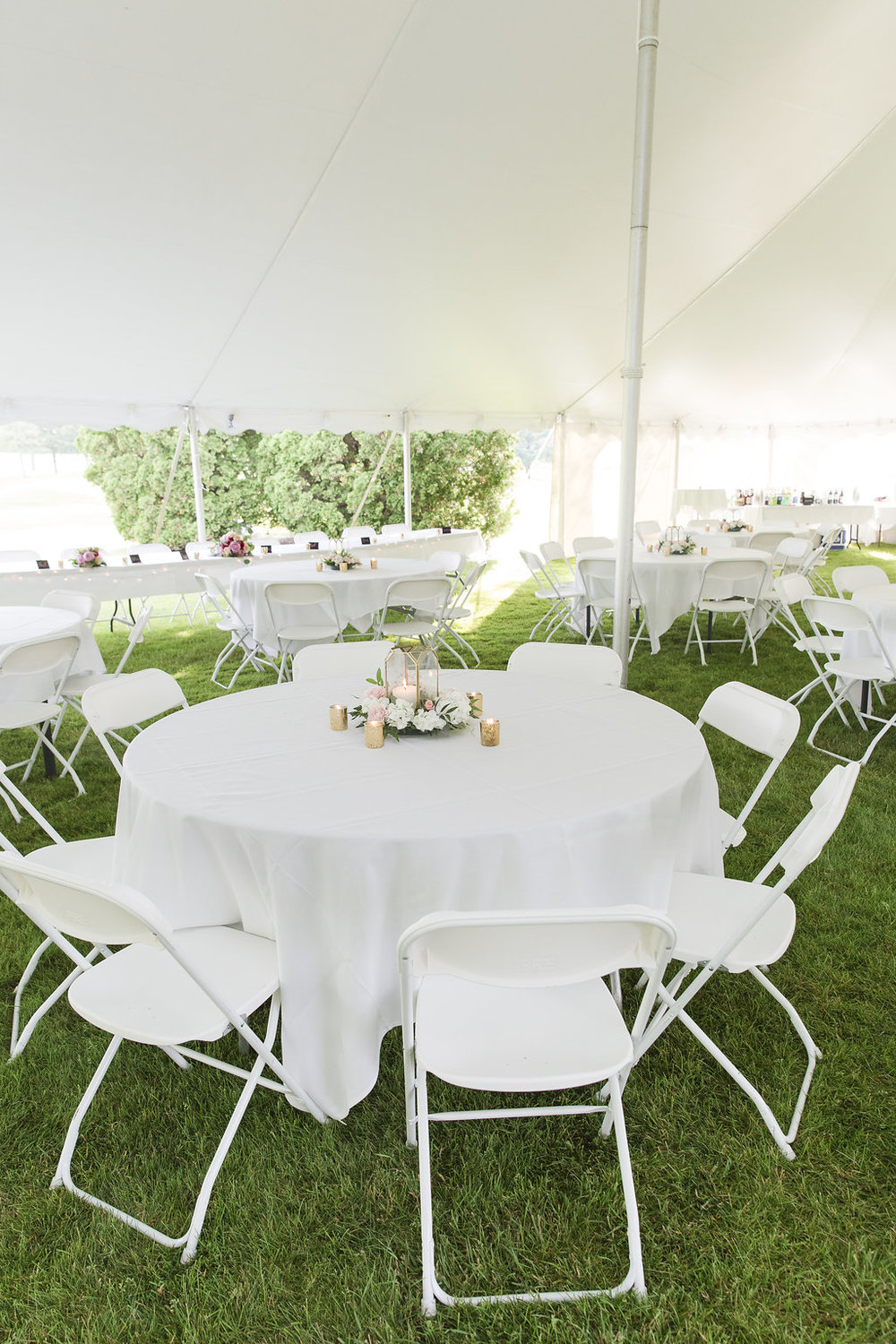Gorgeous Tent Wedding Receptions - Sheboygan Town & Country Golf Club Wedding - Wisconsin Wedding