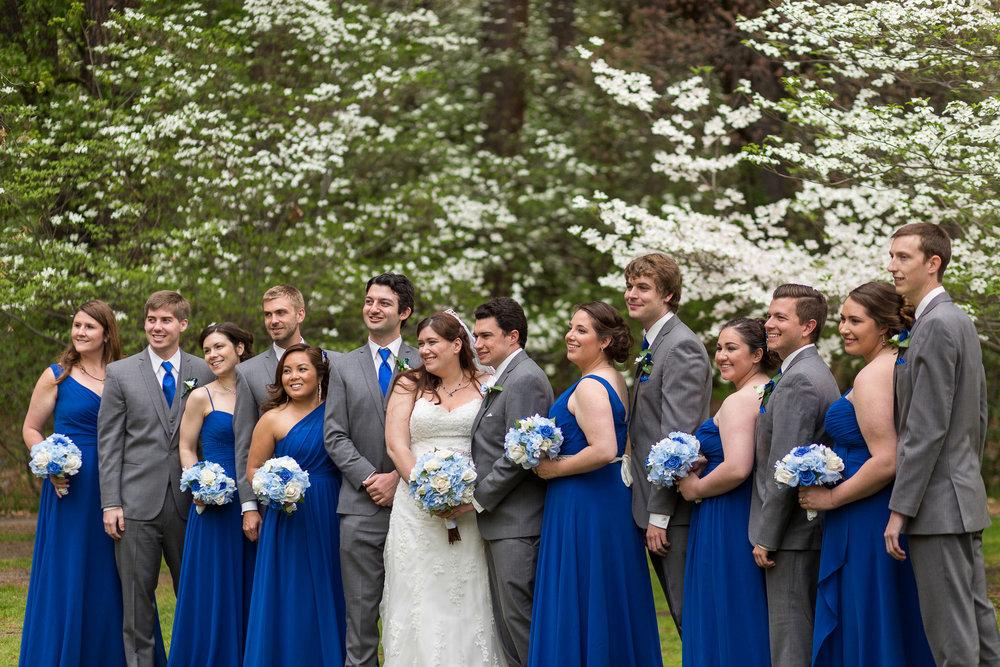 Navy Blue Wedding Dresses - Gorgeous Yosemite Wedding Venues