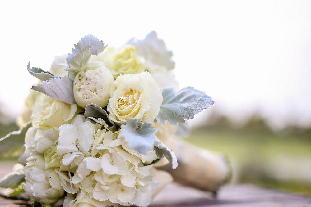 Gorgeous Pastel Wedding Bouquets - Gorgeous Seal Beach Wedding Venue - Old Country Club Wedding