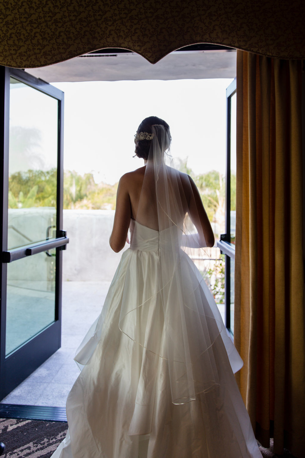 Gorgeous Wedding Dresses - Gorgeous Seal Beach Wedding Venue - Old Country Club Wedding