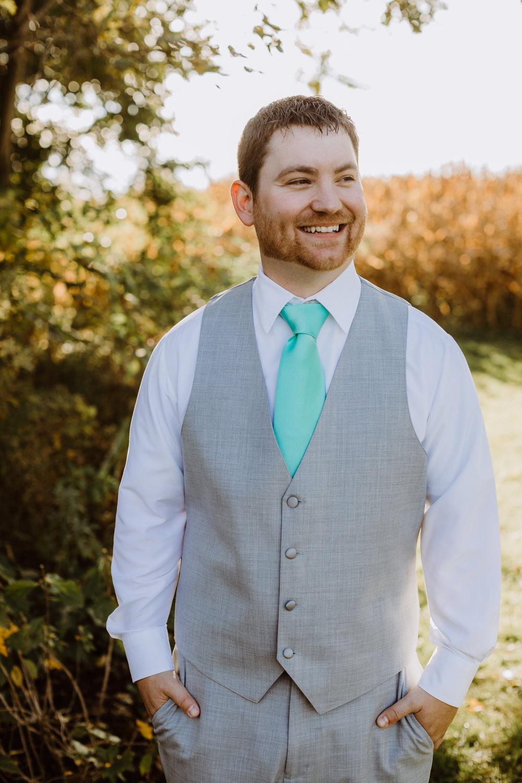 Farm Wedding Groomsmen Attire - A Pennsylvania Barn Swallow Farm Wedding