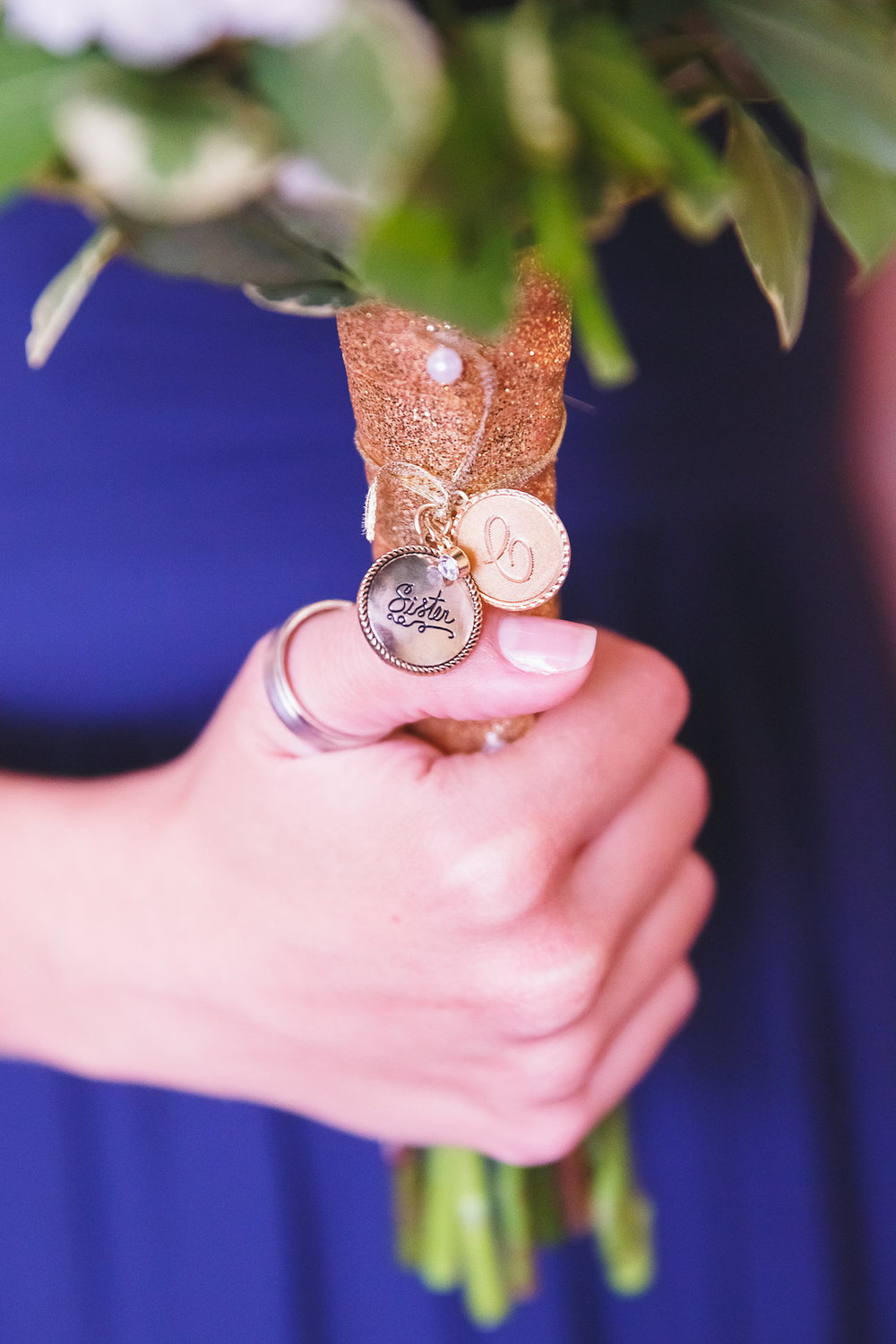 Gorgeous Wedding Bouquet Charms - Science Museum of Virginia Wedding