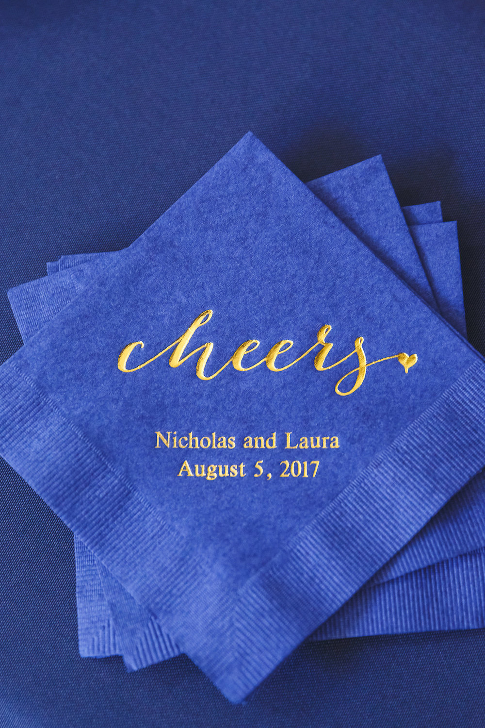 Navy and Gold Weddings - Science Museum of Virginia Wedding