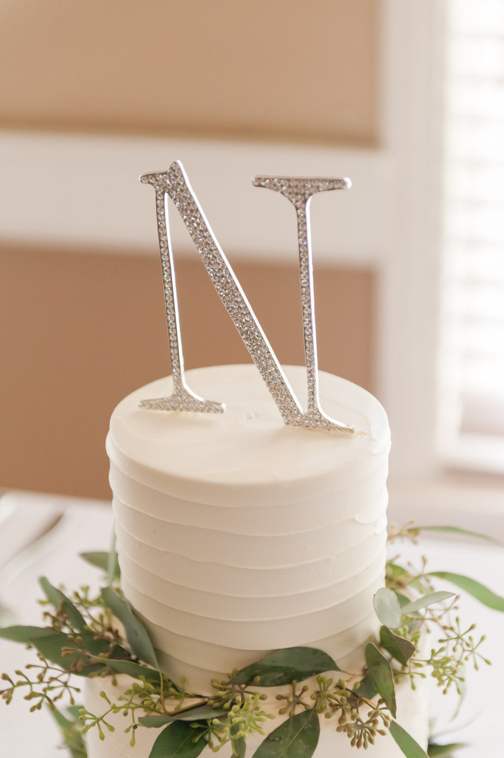 Simple White Wedding Cakes