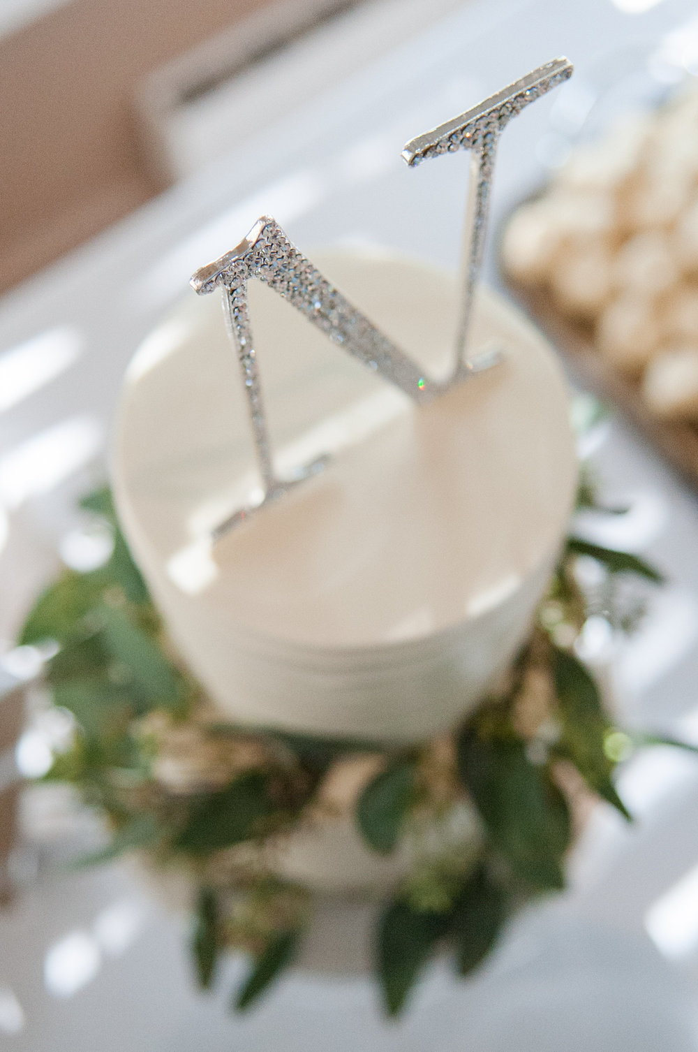 Simple White Wedding Cakes