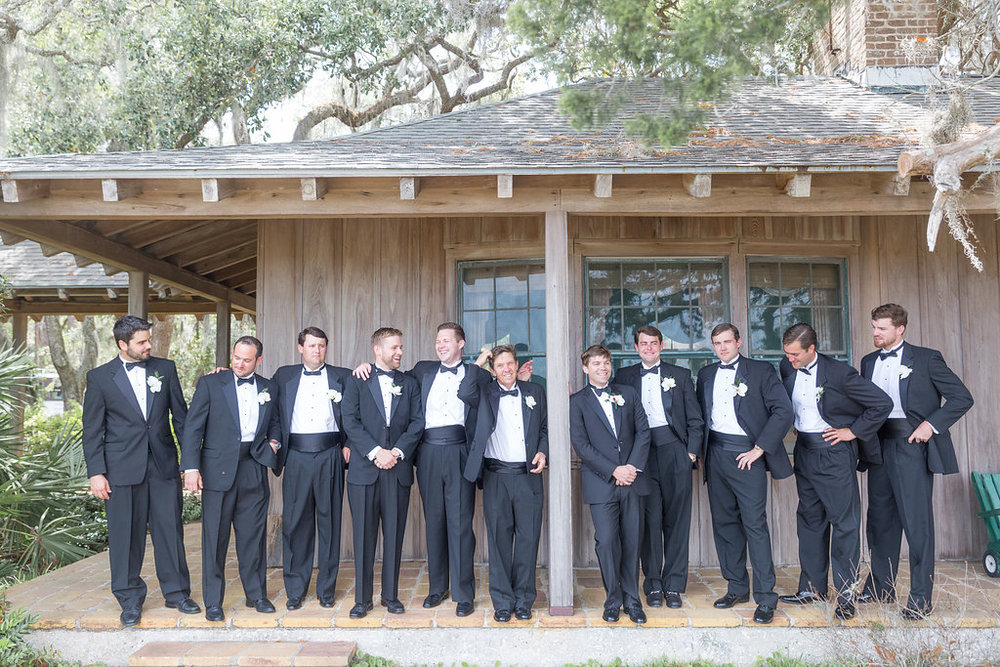 Groomsmen Photos - Musgrove Plantation Georgia Wedding Venue