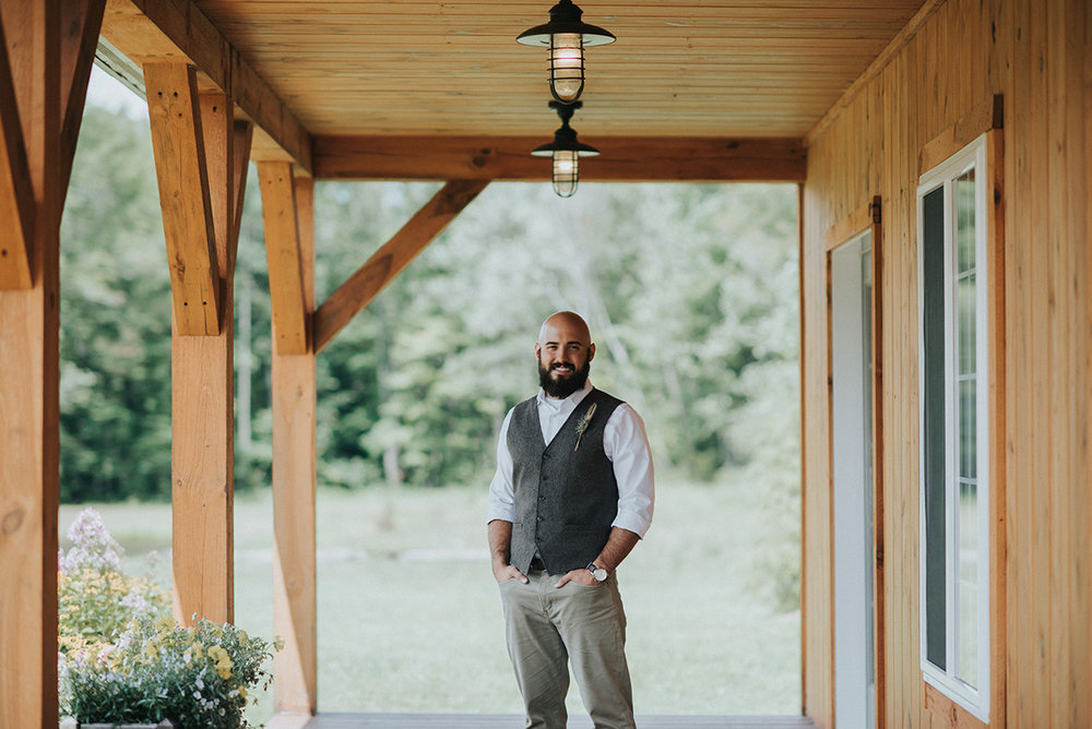 Rustic Wedding Groom Attire - Meadow Ridge Farm Ohio Wedding