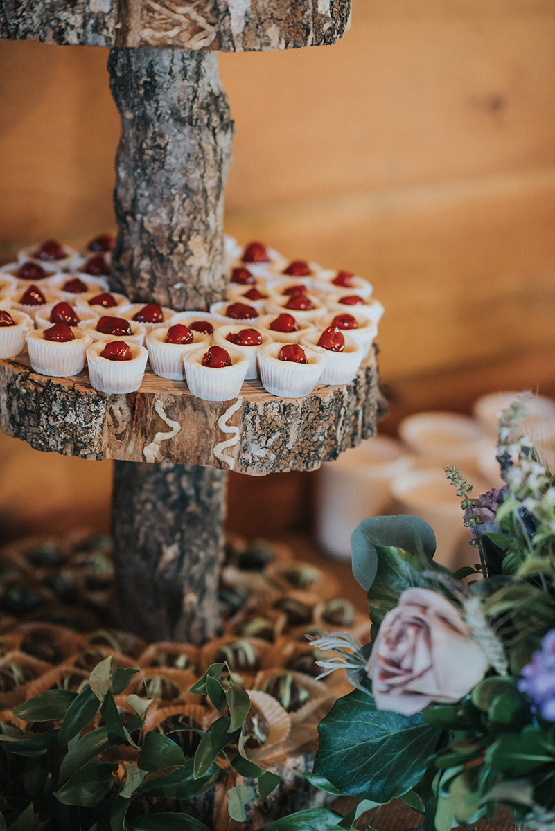 Wedding Donut Buffet - Meadow Ridge Farm Ohio Wedding