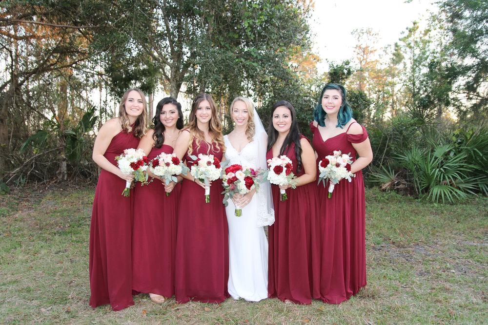 Red White and Blue Wedding -- Enchanting Barn Wedding