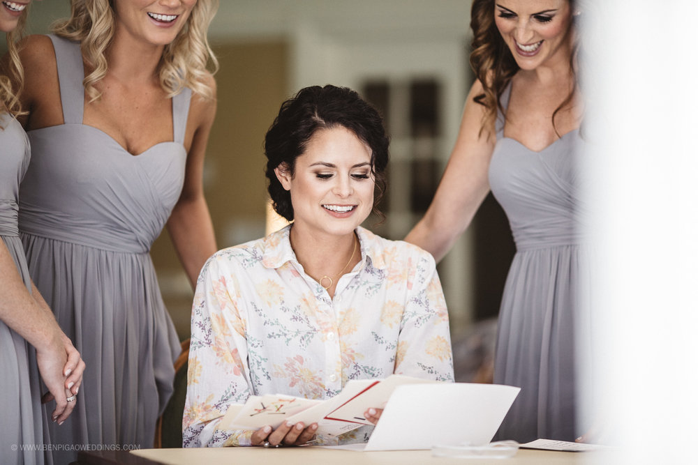 Light Grey Bridesmaid Dresses - Portland, Oregon Waverley Country Club Wedding