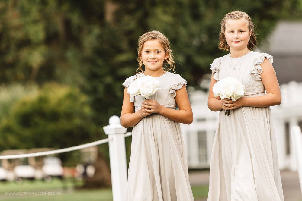 Gorgeous Flower Girl Dresses - Portland, Oregon Waverley Country Club Wedding