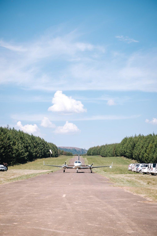 Airplane Hangar Wedding - Farm-Forest Wedding - The Overwhelmed Bride Wedding Blog