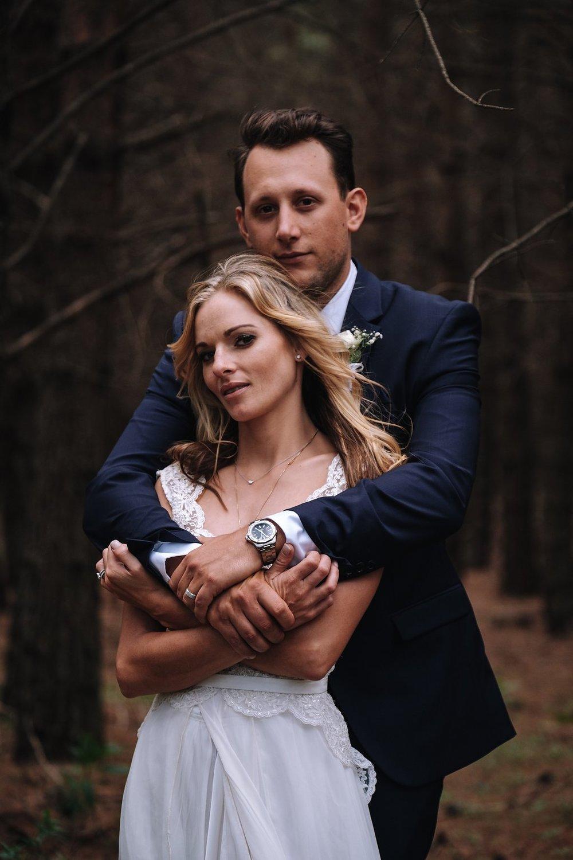 Gorgeous Wedding Photos - Farm-Forest Wedding - The Overwhelmed Bride Wedding Blog