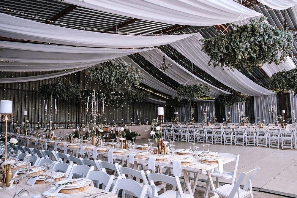 Gorgeous Barn-Hangar Wedding - The Overwhelmed Bride Wedding Blog