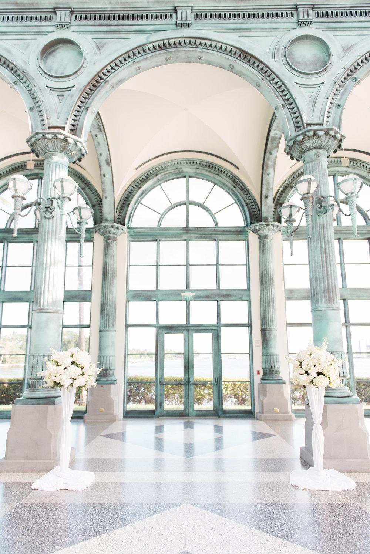 Flagler Museum Palm Beach Wedding Ceremony - The Overwhelmed Bride Wedding Blog
