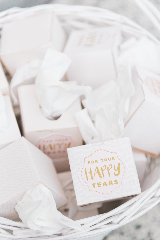 Wedding Favor Ideas - Flagler Museum Palm Beach Wedding Ceremony - The Overwhelmed Bride Wedding Blog