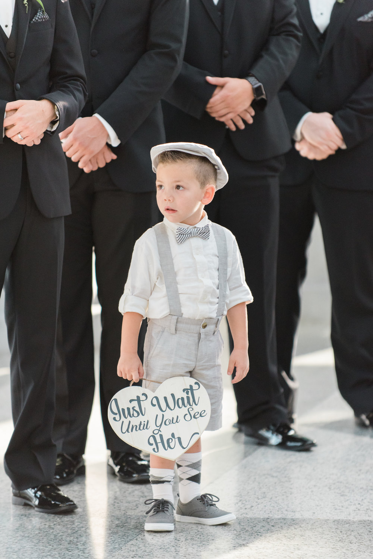 Cute Ring Bearer Outfits - Flagler Museum Palm Beach Wedding Ceremony - The Overwhelmed Bride Wedding Blog