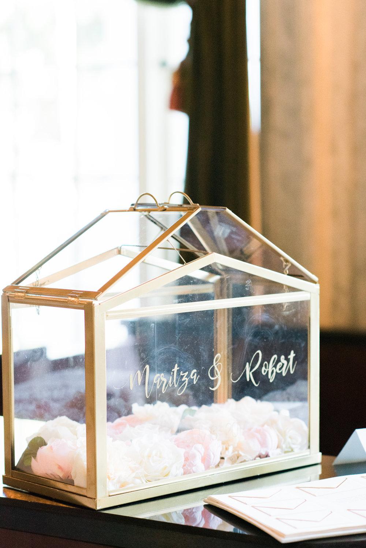 Wedding Guest Book Ideas-Alternatives - Flagler Museum Palm Beach Wedding Reception - The Overwhelmed Bride Wedding Blog