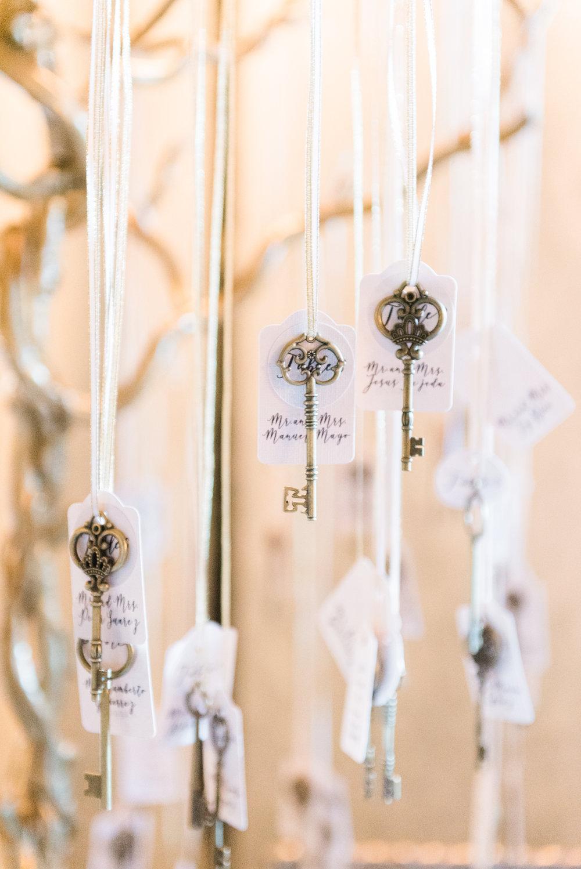 Unique Wedding Seating Charts - Flagler Museum Palm Beach Wedding Reception - The Overwhelmed Bride Wedding Blog