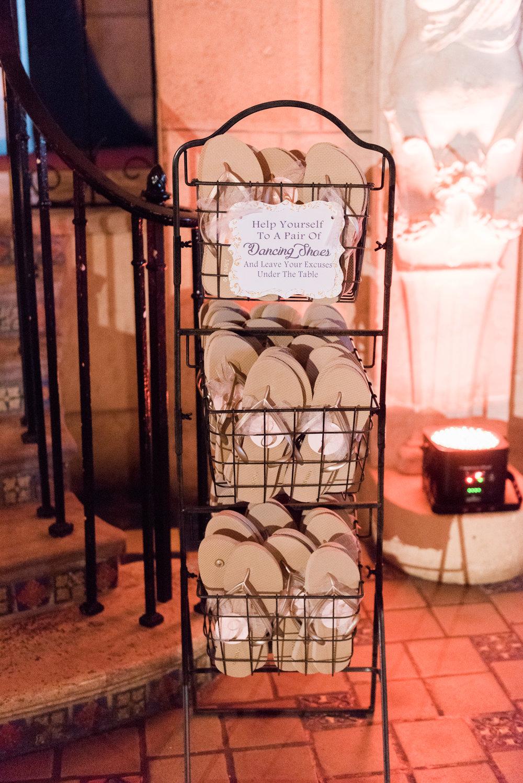 Unique Wedding Favor Ideas - Flagler Museum Palm Beach Wedding Reception - The Overwhelmed Bride Wedding Blog