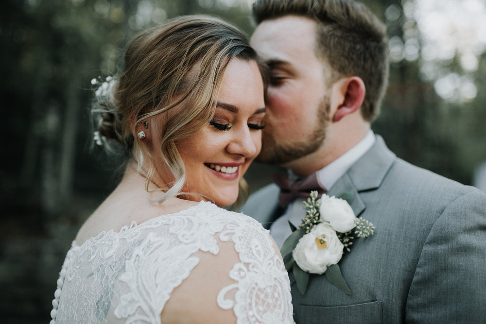 Gorgeous Long Sleeve Wedding Dresses - Dara's Garden Knoxville East Tennessee Wedding — The Overwhelmed Bride Wedding Blog