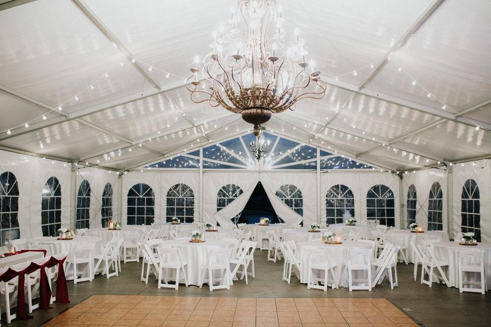 Gorgeous Tent Wedding Reception - Dara's Garden Knoxville East Tennessee Wedding — The Overwhelmed Bride Wedding Blog
