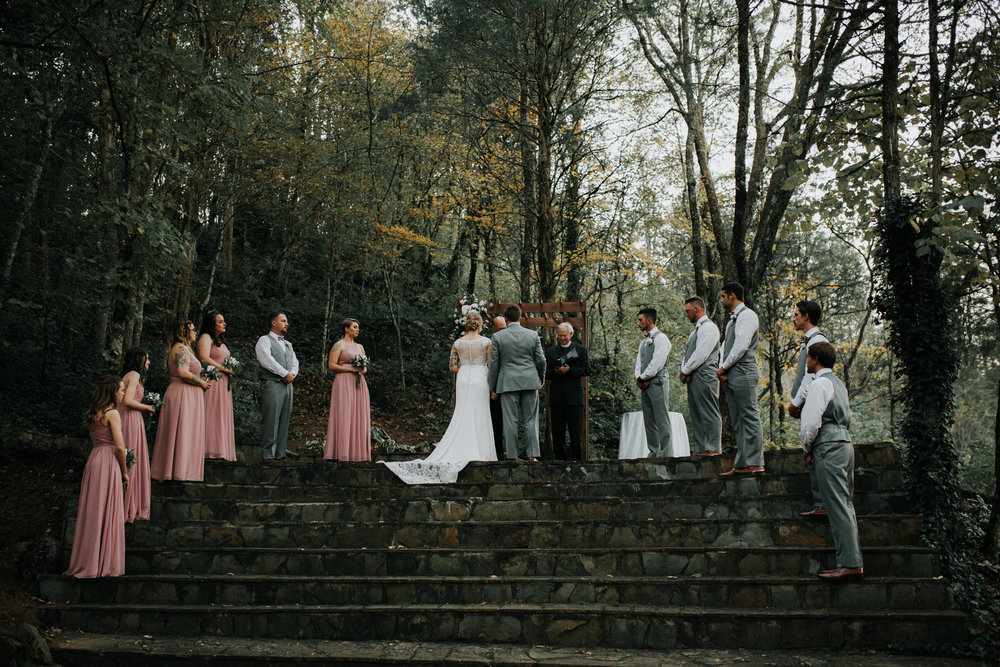 Dara's Garden Knoxville East Tennessee Wedding Ceremony — The Overwhelmed Bride Wedding Blog