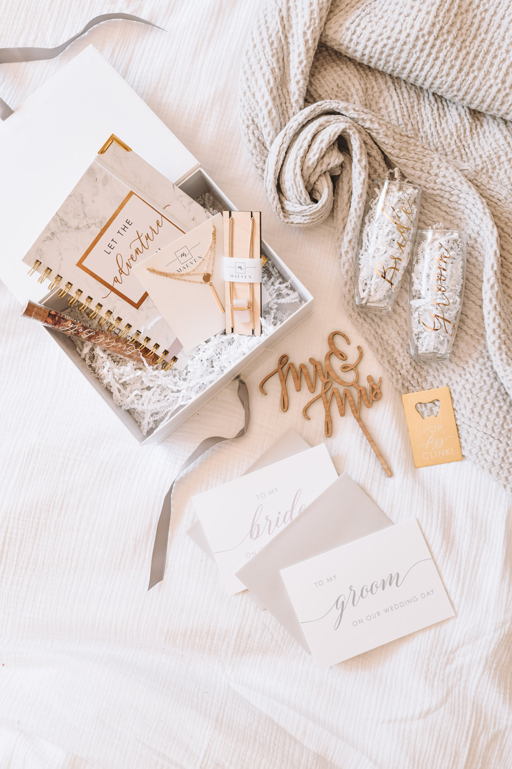 The Perfect Bride To Be Gift Maeven Box The Overwhelmed Bride