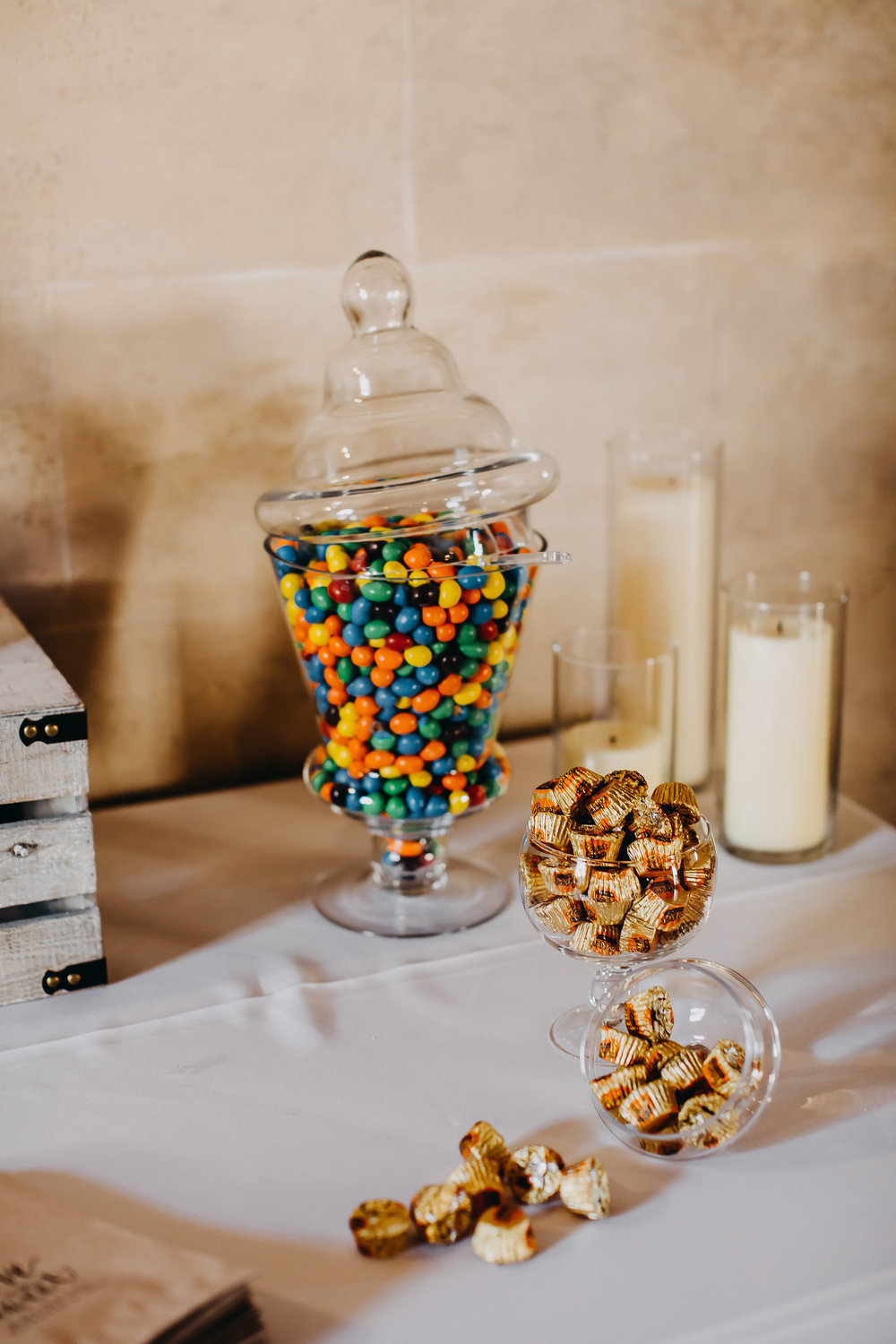 Wedding Dessert Bar - Florida Estate Wedding - Powel Crowley Estate Wedding