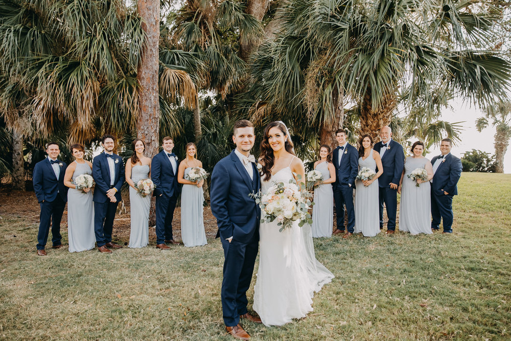 Gorgeous Wedding Photos - Florida Estate Wedding - Powel Crowley Estate Wedding