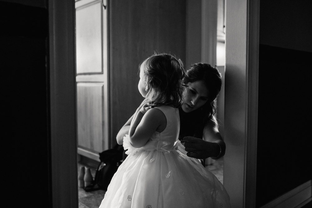 Cute Flower Girl Photos - Pennsylvania Fall Wedding - The Overwhelmed Bride Wedding Blog