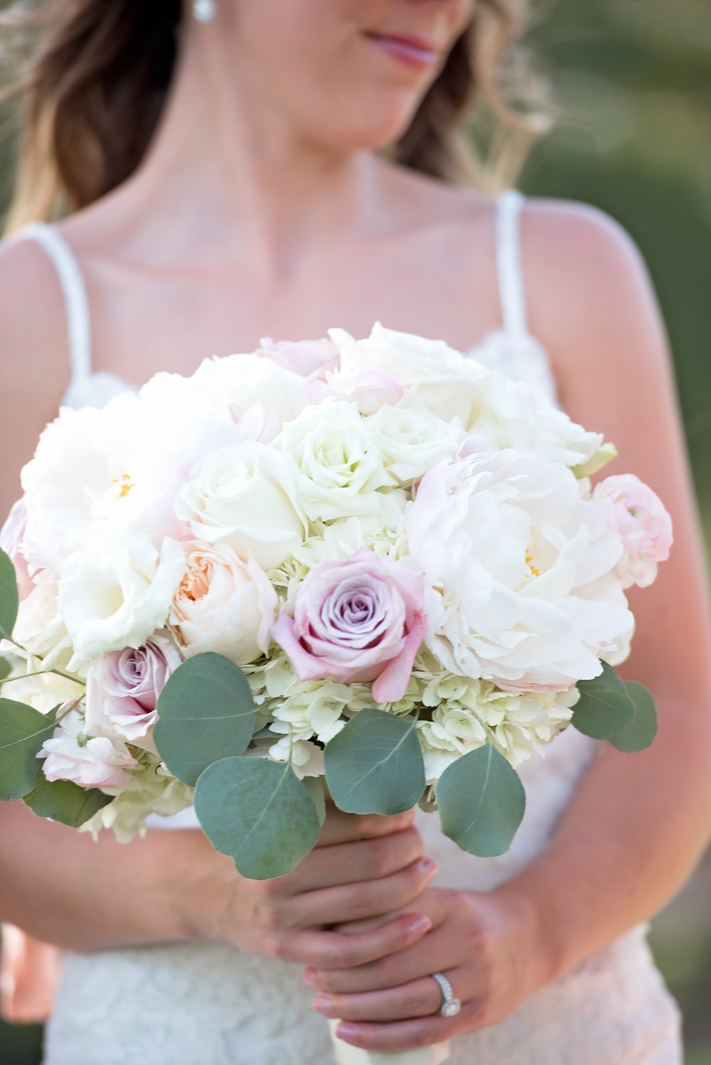 A Blush White French Countryside Inspired Wedding The