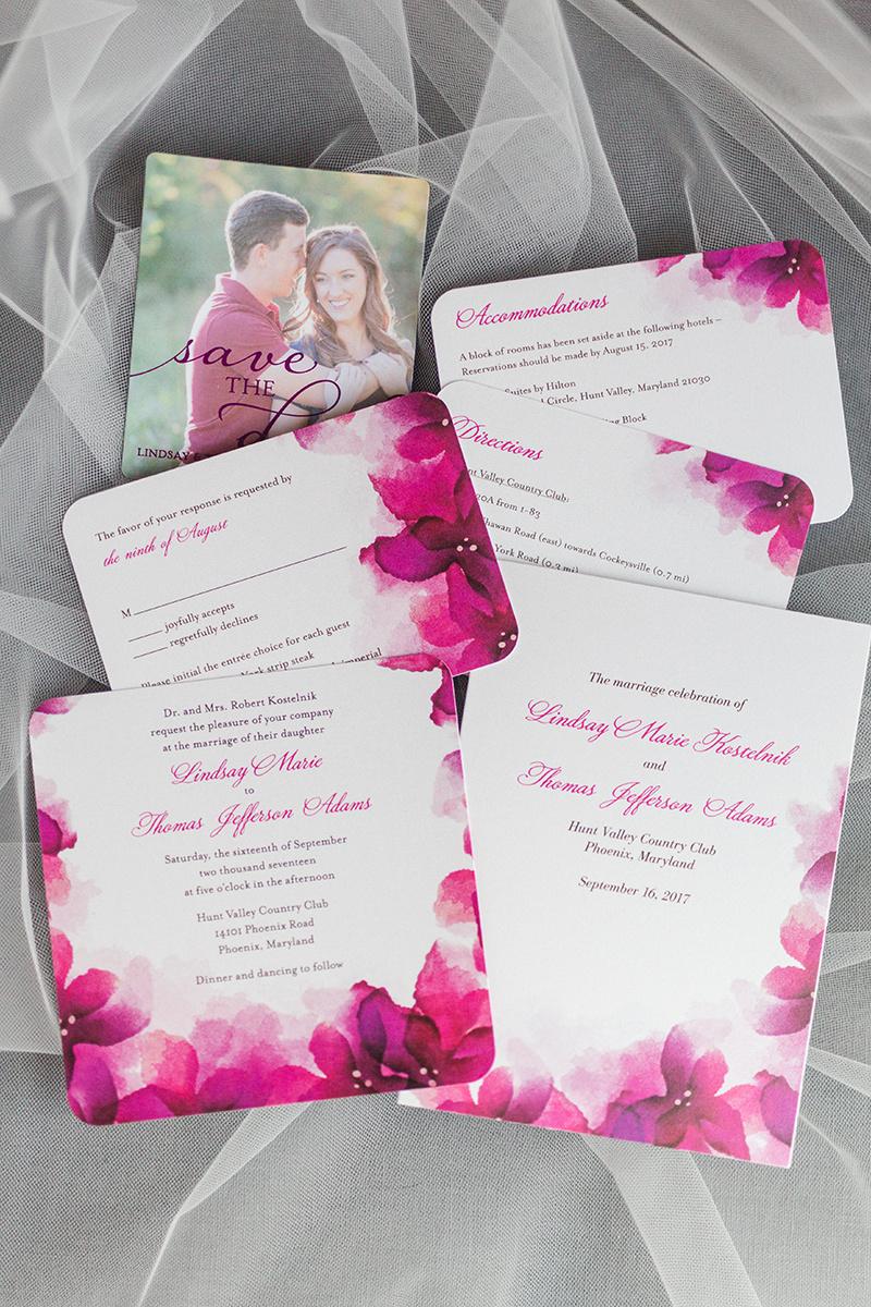 Pink Wedding - Golf Course Wedding — The Overwhelmed Bride Wedding Blog